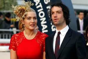 Kate Winslet and Ned Rocknroll. Photo/AP