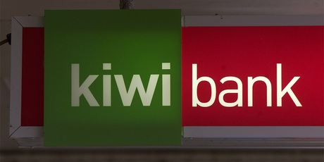 Kiwibank had its outlook downgraded from stable to negative. Photo / NZH