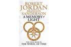 'A Memory of Light' by Robert Jordan and Brandon Sanderson. Photo / Supplied