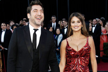 Penelope Cruz and Javier Bardem at last year's Academy Awards. Photo/AP