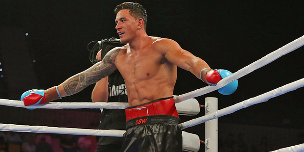 Sonny Bill Williams remains undefeated in the ring. Photo / Getty Images
