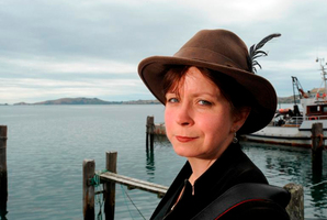 Zoe Young at Port Chalmers. Photo / Gregor Richardson