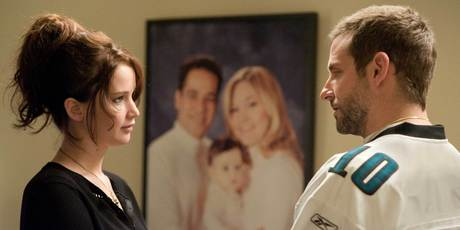 Jennifer Lawrence and Bradley Cooper in Silver Linings Playbook. Photo/supplied