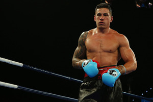 Sonny Bill Williams during his controversial heavyweight bout against Francois Botha. Photo / Getty Images