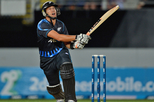 Ross Taylor in action during New Zealand's opening Twenty20 defeat. Photo / Getty Images