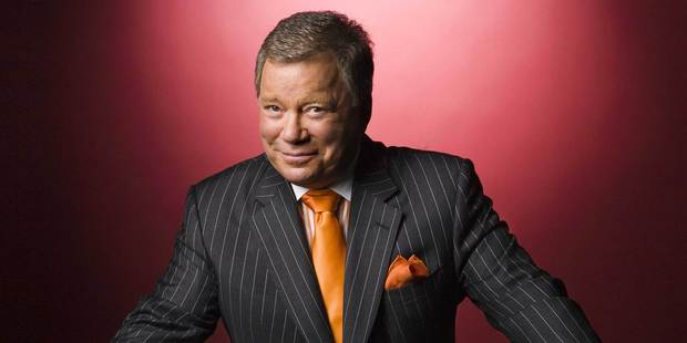 William Shatner. Photo/supplied
