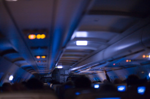 The man has been charged with assault following the incident on a flight to Atlanta. Photo / Thinkstock