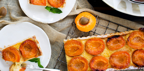 Apricot and Ricotta Tart. Photo / NZH