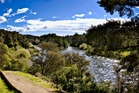 One of the post popular sections of the Waikato River Trails. Photo / Supplied