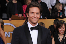Actor Bradley Cooper is nominated for Best Male Actor for his role in Silver Linings Playbook. Photo / AP