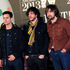British band The Vaccines seen arriving at the BRIT Awards 2013. Photo / AP
