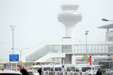 The domestic terminal at Auckland Airport was evacuated. Photo / File photo
