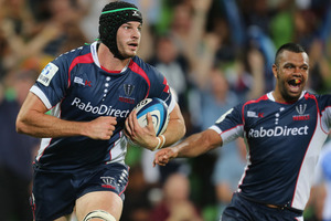 Hugh Pyle earned 30 points following the Rebels' victory over the Force. Photo / Getty Images