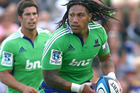 All Blacks and former Blues players Ma'a Nonu and Tony Woodcock will represent the Highlanders in a competition game for the first time tomorrow night. Photo / Getty Images.