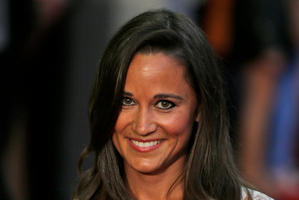 Pippa Middleton is dating a self-made millionaire stockbroker.Photo / AP