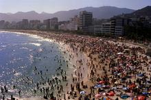 Arpoador and Ipanema beaches Rio De Janeiro Brazil. Photo / Getty Images