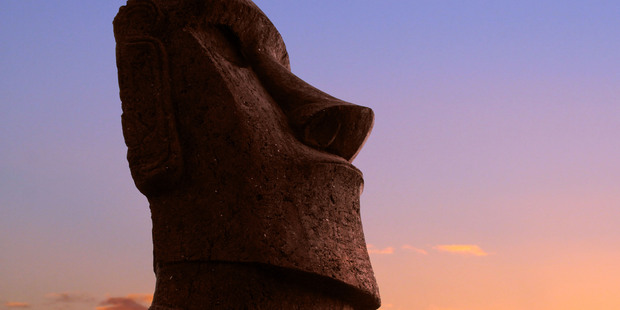 The largest moai was 80 tonnes and 10m high. Photo / Getty Images