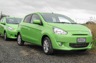 The 2013 Mitsubishi Mirage