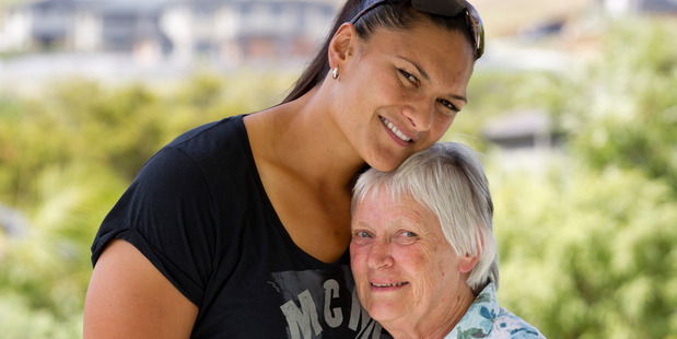 Valerie Adams remains grateful to Alana Becher and the Totara Hospice for the care her mother received there as she was dying. Photo / Greg Bowker