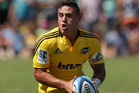 Hurricanes halfback TJ Perenara is raring to repeat his starring role. Photo / Getty Images