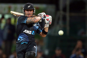 Brendon McCullum is keen to trial coming in at No. 6. Photo / Getty Images