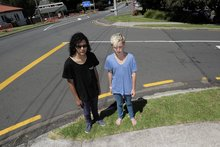 Peter Nicholas (L) and Matt Way (R) were attacked by a group of older teens. Photo / George Novak