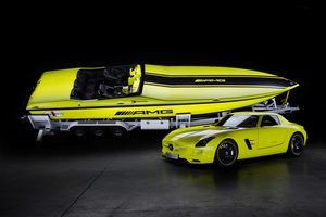 Mercedes-Benz Cigarette Boat AMG Electric Drive  Photo / Supplied