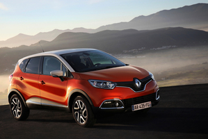 Renault Captur debuting in March at the Geneva Motor Show, will offer space and agility. Photo / Supplied