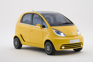 Sales of the world's cheapest car, the Tata Nano are slipping. Photo / Supplied