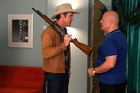Dennis Quaid and Michael Chiklis in 'Vegas'. Photo / Supplied