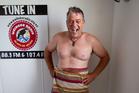 Simon Mansfield co-host of Waiheke Radio's Saturday morning breakfast show. Photo / Richard Robinson