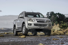 The Isuzu D-Max handles a full one-tonne load but would benefit from better tie-downs. Photo / Phil Hanson