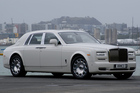 The latest Rolls-Royce Phantom Series II has on-road presence. Photo / David Linklater
