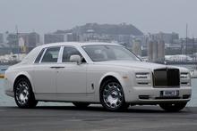 The latest Rolls-Royce Phantom Series II has on-road presence. Photo / David Linklater