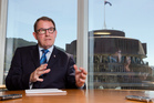 John Banks in Parliament cuts a lonely figure, wounded and discredited by the Dotcom debacle. Photo / Mark Mitchell