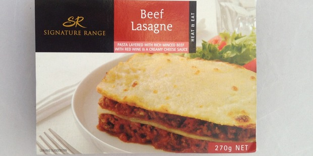 Signature Range Beef Lasagne, $3.45 for 270g.  Photo / Supplied