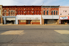 The abandoned buildings in downtown Pine Bluff are a testimony to vanished prosperity. Photo / WikimediaCommons