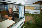 Edwin Van Zuilen of North Auckland Caravans thinks the courts are being too soft. Photo / Michael Craig