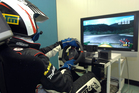 The academy's driver simulator has helped train successful students such as rally ace Hayden Paddon.