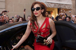 Lady Gaga. Photo / AP