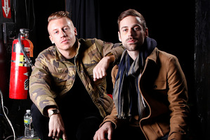 Macklemore, left, and his producer Ryan Lewis.Photo / AP