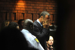 Gated communities such as the one where Pistorius lives provide security but arguably inflame the divide between the haves and the have-nots. Photo / AP