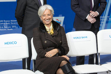 The threat of a currency war remains real, despite the best efforts of IMF leader Christine Lagarde to play down the rhetoric and calm nerves. Photo / AP