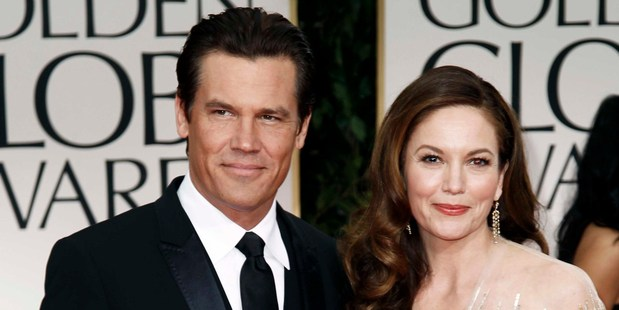 Josh Brolin and Diane Lane are divorcing after eight years of marriage. Photo / AP