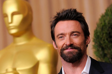 Hugh Jackman is nominated for best actor in a leading role for Les Miserables. Photo / AP