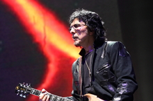 Tony Iommi of Black Sabbath performs at the Lollapalooza festival in Chicago's Grant Park. Photo / AP