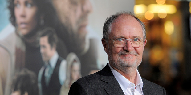 'It's something I remember doing with my mother. It's sort of like opening tiny doors.' - Jim Broadbent Photo / AP