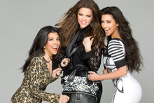 Kim Kardashian, right, says she wants the ninth season of Keeping Up With The Kardashians to be her last. Photo / Supplied