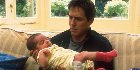 Hugh Grant in 'About A Boy'. Photo / Supplied