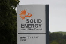 Entry to the Solid Energy, Huntly East Mine.  Photo / Christine Cornege